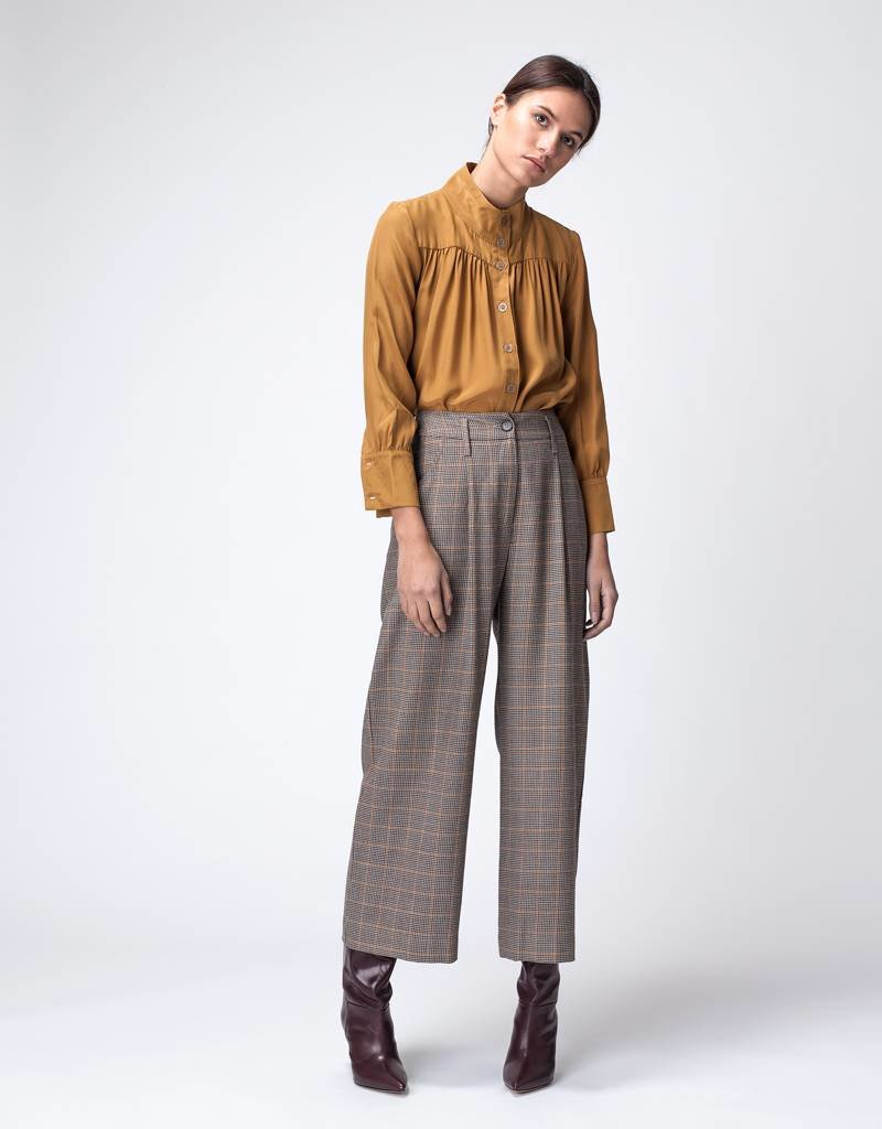 Dutchess Ray pants  - english check
