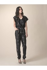 Dutchess Lucky pantsuit silk print