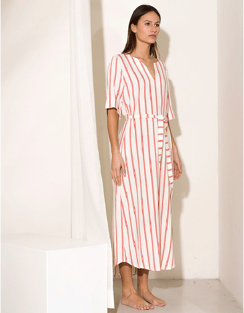Dutchess Caftan dress - stripe