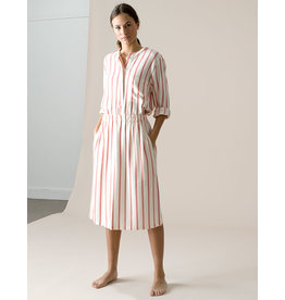 Dutchess Pocket shirt red-white stripe