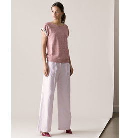 Dutchess Ray pants - red-white-blue stripe