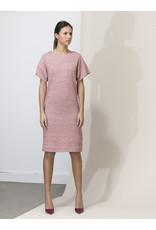 Dutchess Short Charlie dress - red stripe