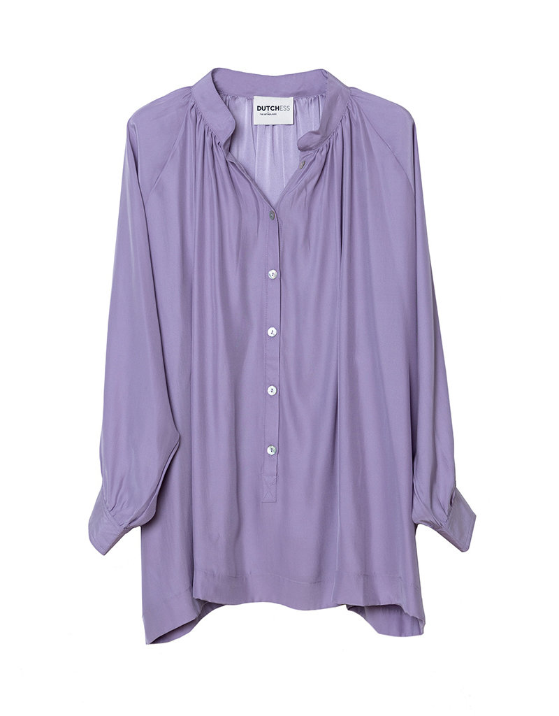 Dutchess Swing top - lilac silk