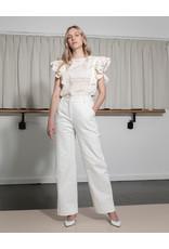 Dutchess Edwardian blouse cream