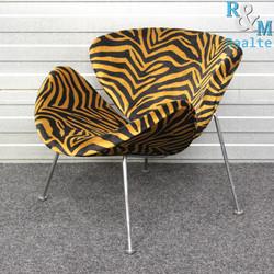 Artifort Orange Slice Design Fauteuil (Tijgerprint)