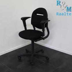 Ahrend 220 Bureaustoel -  (Nieuwe Stof / Vaste Pads)