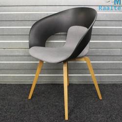 Skandiform Deli KS-161 Design stoel - Grijs/Zwart
