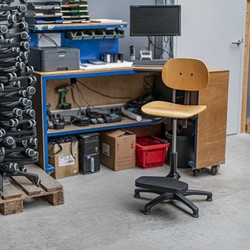 RM Office R-line  Werkstoel - H267