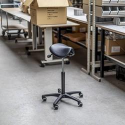 RM Office R-Line Zadelkruk - PKS200 (smalle zitting - kunstleer)
