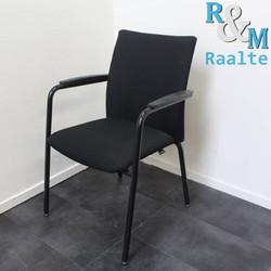 Comforto Vergaderstoel - Zwart/Zwart