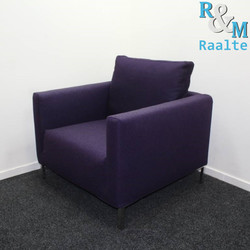 Design Lounge Fauteuil Paars