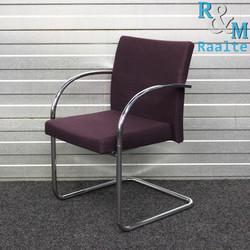Artifort Prof Chair Design Stoel Paars