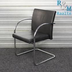 Artifort Prof Chair Design Stoel Zwart Leer