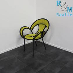 Moroso Banjooli Design Stoel  Nieuw, Geel/Zwart