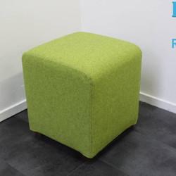 Design Hocker / Poef van Offecct, Groen