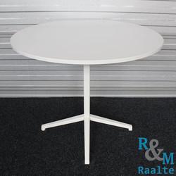 Ronde designtafel wit