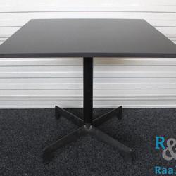 Resol Design Kantinetafel, Zwart, Vierkant