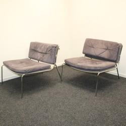 Frog lounge chair - Grijs