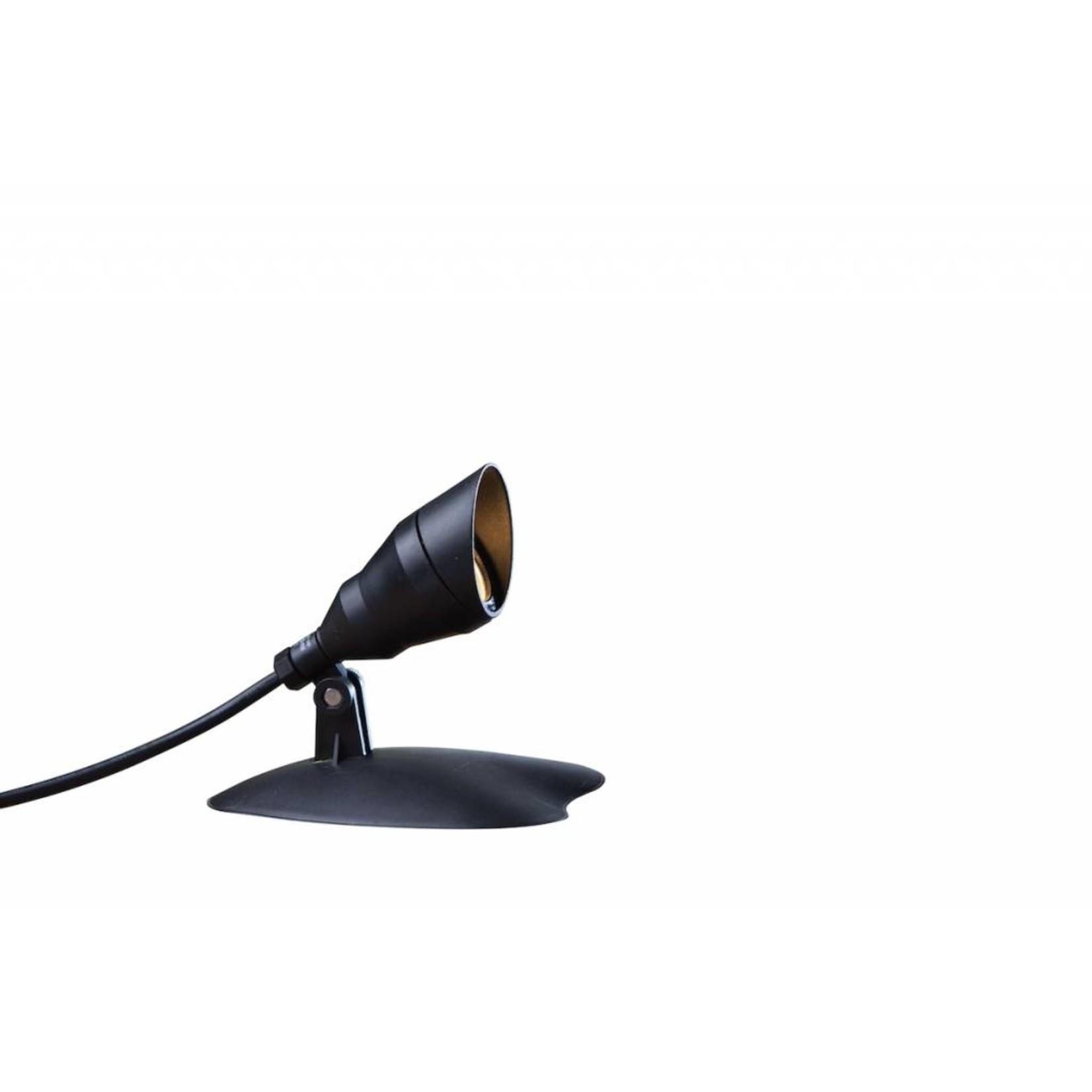 Smart Light spot 4W warm wit kunststof