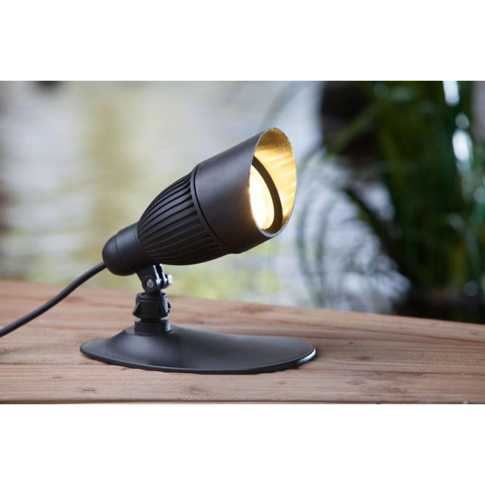 Smart Light spot 9W warm wit kunststof