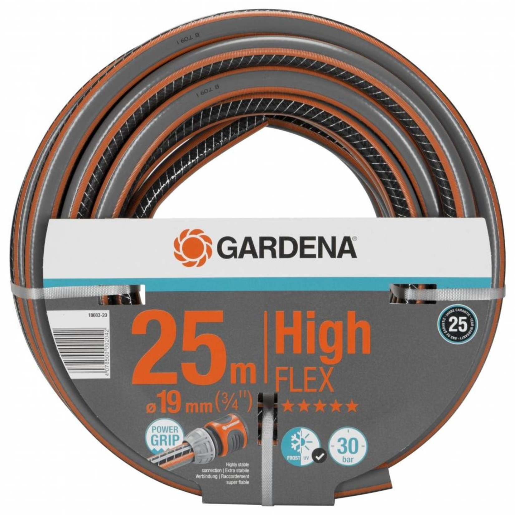 Gardena Gardena Comfort HighFLEX slang 25m/19mm