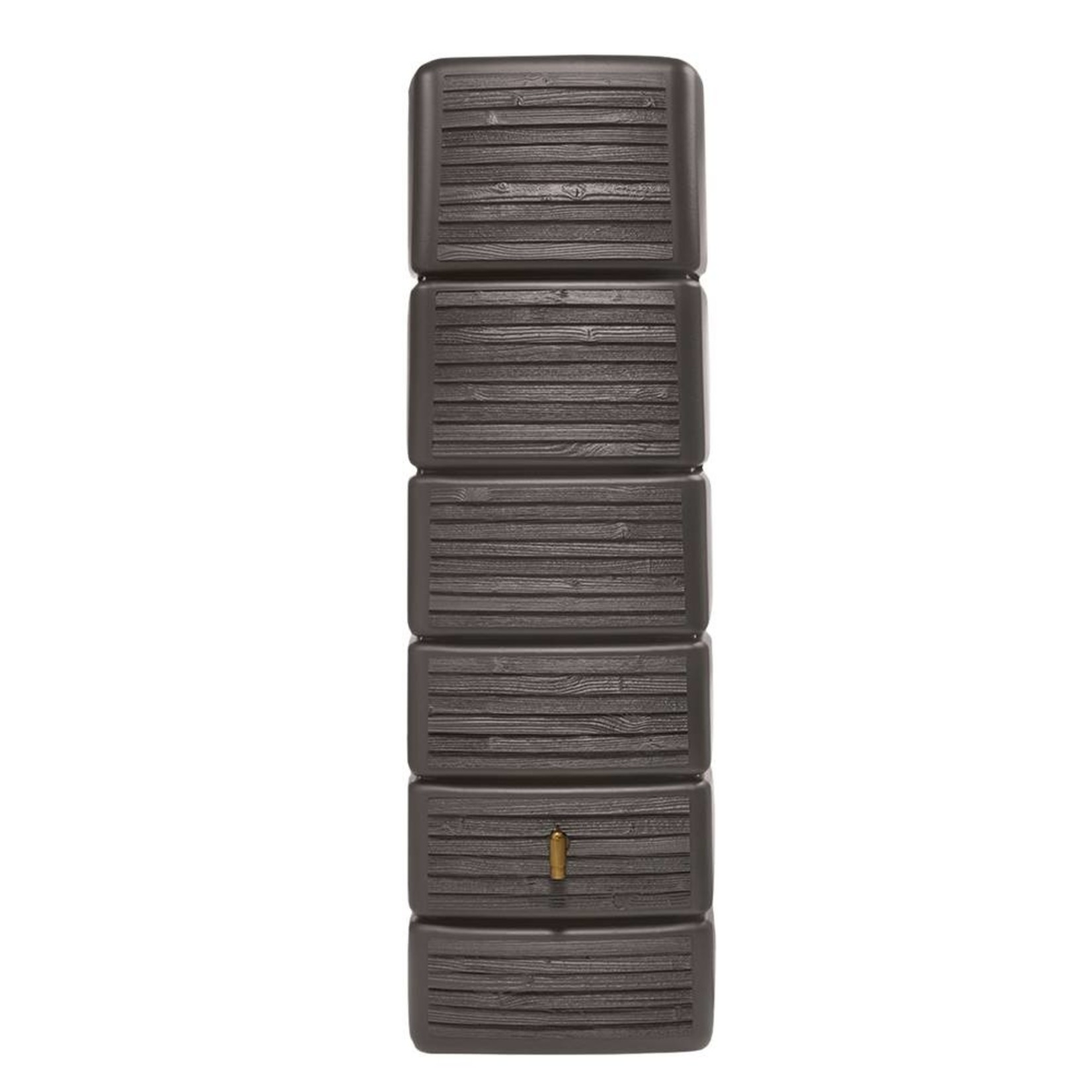 Garantia SLIM wandtank 300 ltr wood decor dark