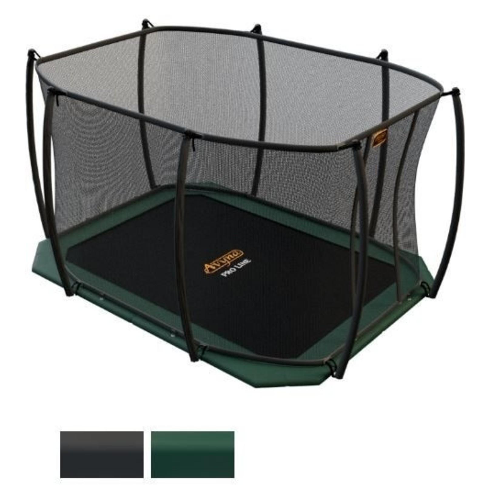 Rechthoekige trampoline   Avyna Pro-Line FlatLevel 315x225 cm