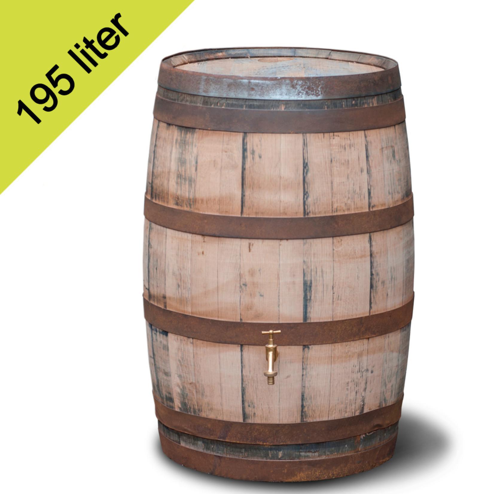 Meuwissen Agro Ton Whiskey 195 liter hergebruik GESCHUURD
