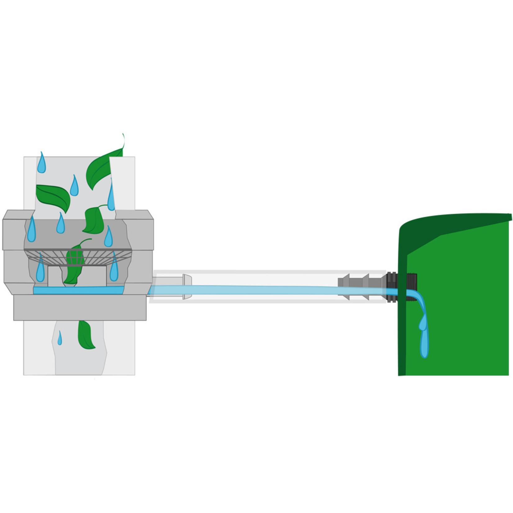 Meuwissen Agro Regenton vulautomaat met bladfilter 60/100 mm