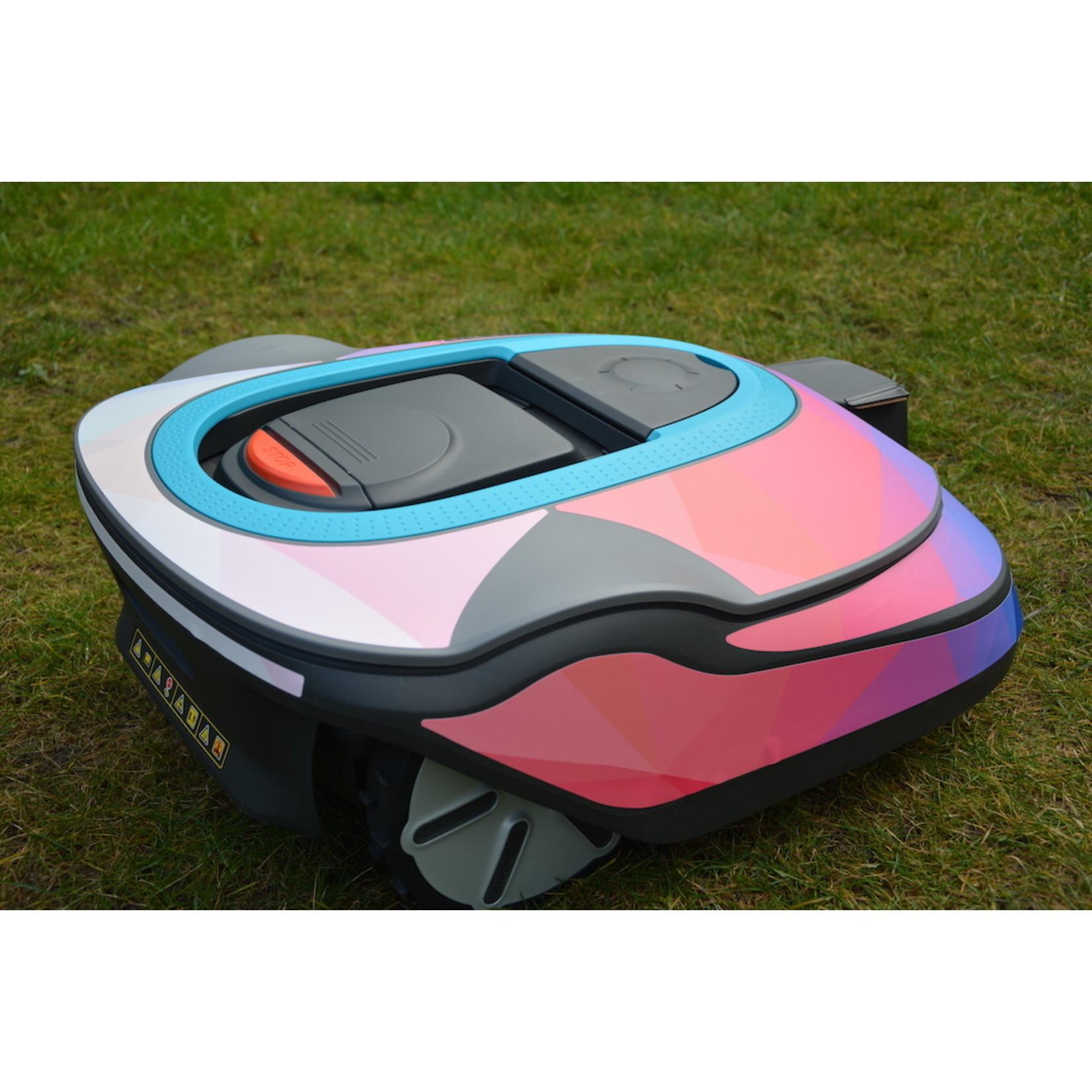Twinckels Twinckels outfit voor Gardena Robotmaaier Sileno - Geo Roze