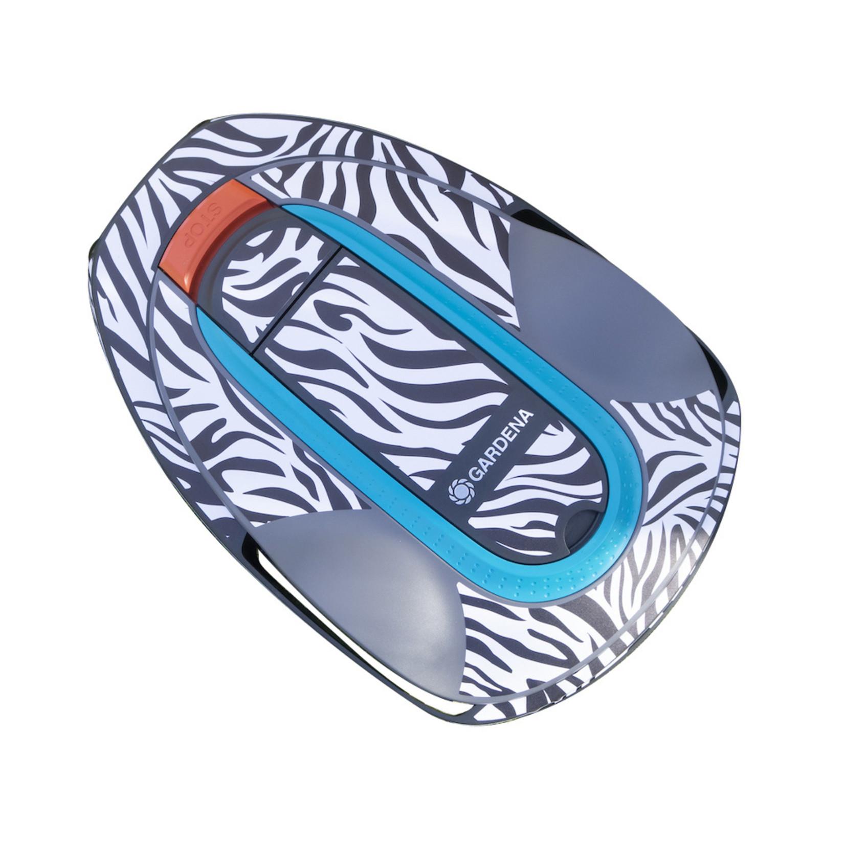 Twinckels Twinckels outfit voor Gardena Robotmaaier Sileno - Zebra 2