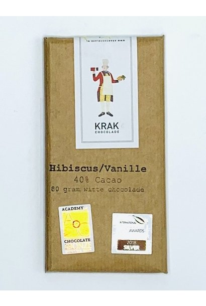 Krak Chocolade Hibiscus vanille