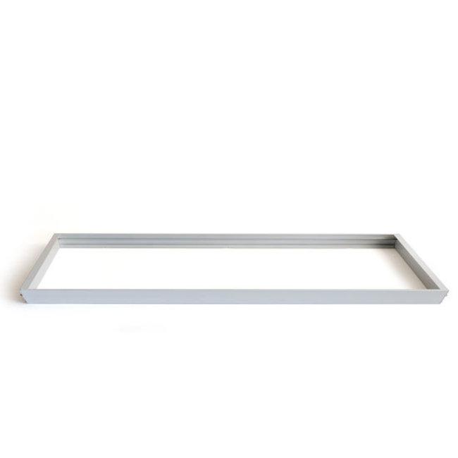 PURPL Kit de Superficie Paneles LED 30x120cm Marco Plata