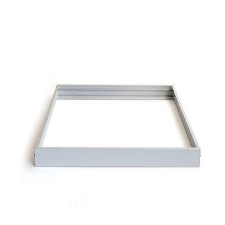PURPL Kit de Superficie Paneles LED 60x60cm Marco Plata