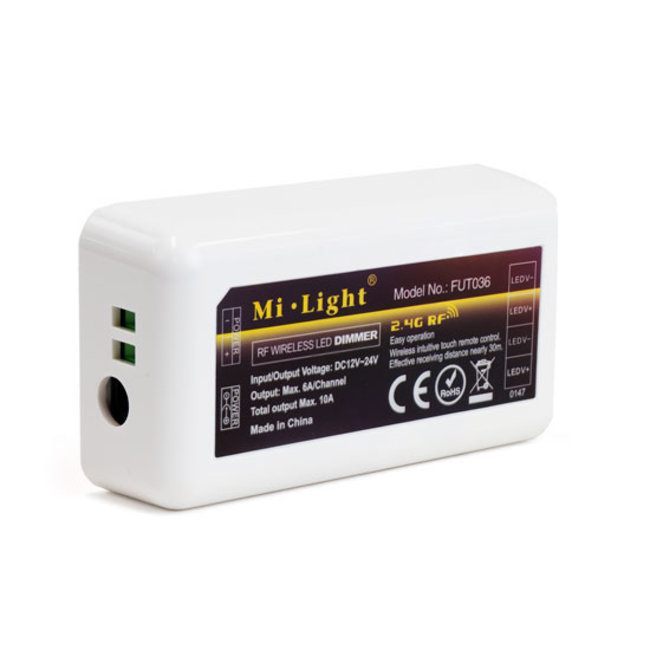 PURPL MILIGHT Led strip ENKELKLEURIGE controller 144 Watt
