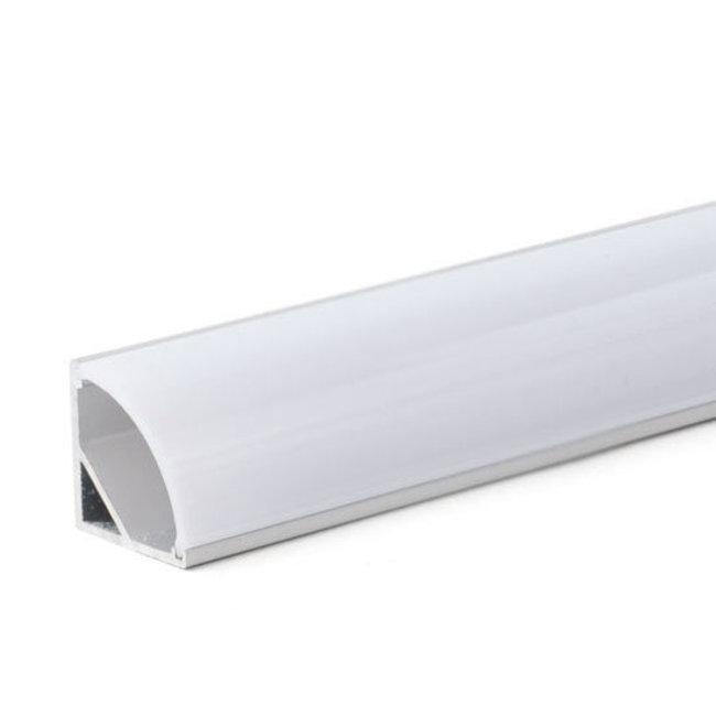PURPL Perfil aluminio para tiras LED 2,5m 16x16mm angular