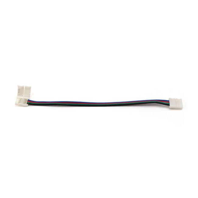 PURPL Cable de conexión click RGB Tira LED 4-Pin 15cm