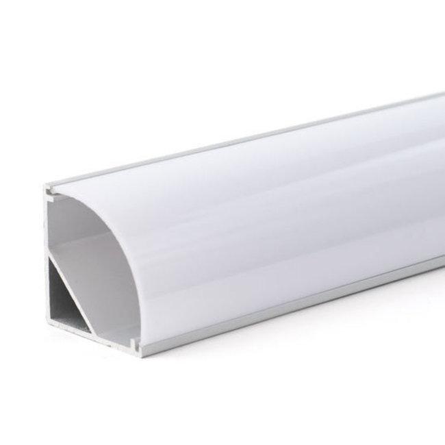 PURPL Perfil aluminio para tiras LED 2,5m 30x30mm angular