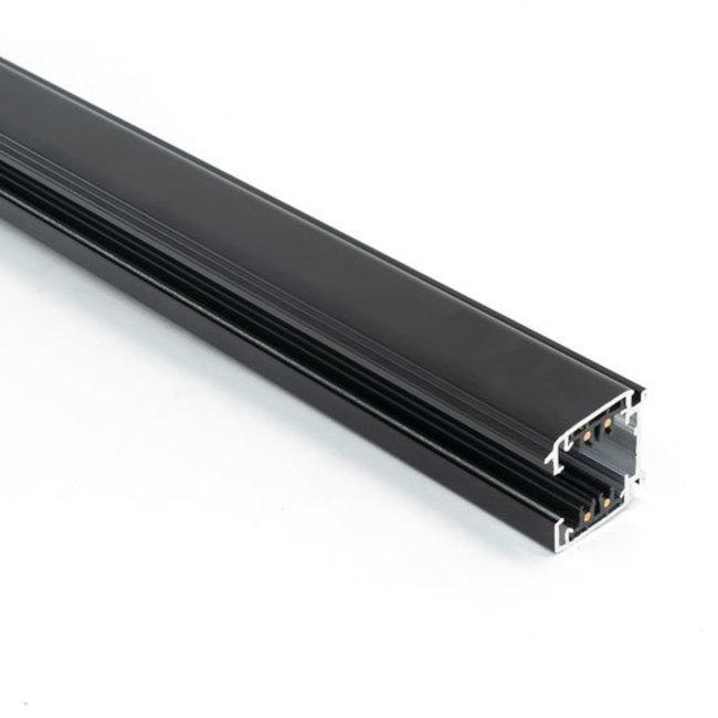 Powergear Carril trifásico con conector, 2,5m negro