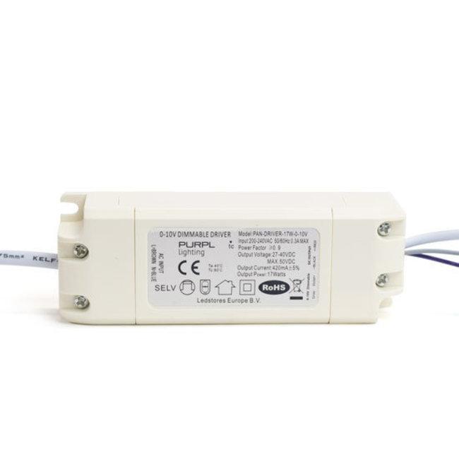 PURPL Driver regulable LED 18W 0-10V 420mA