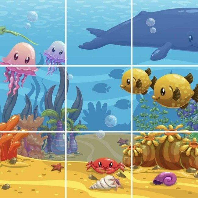 PURPL Techo de Océano para niños   Panel de techo fotográfico de acrílico   [IMG28]