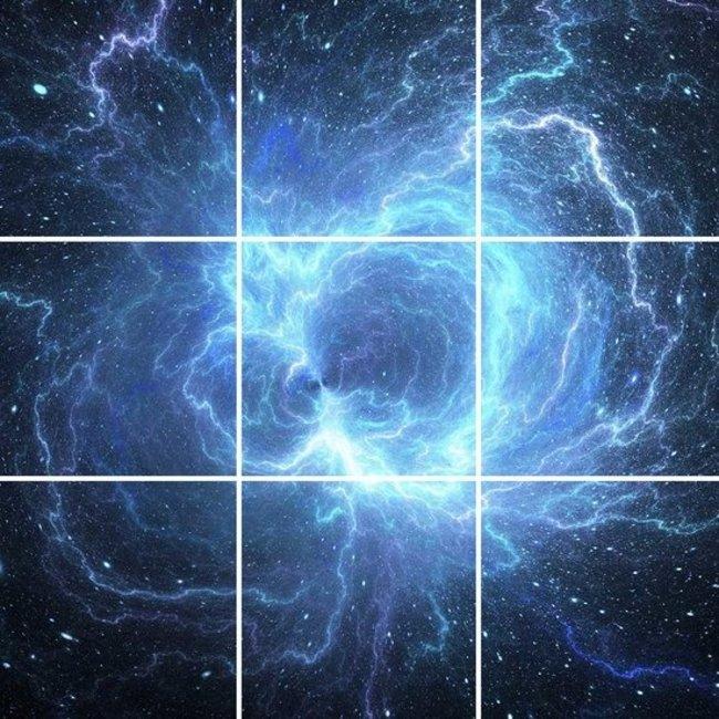 PURPL Estrella de Neutrones Techo Estrellado   Foto Techo Panel de acrílico   [IMG30]