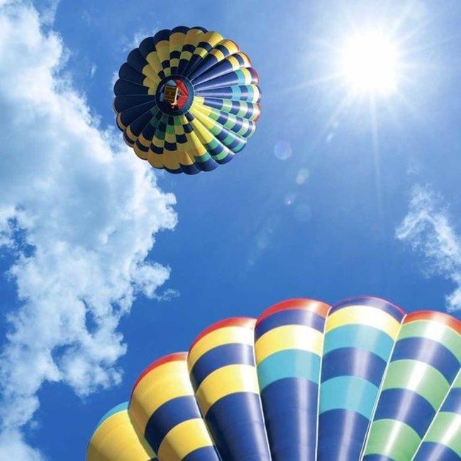 PURPL Globo Aerostático Cielo | Imagen sobe lienzo en marco Led | [img16]