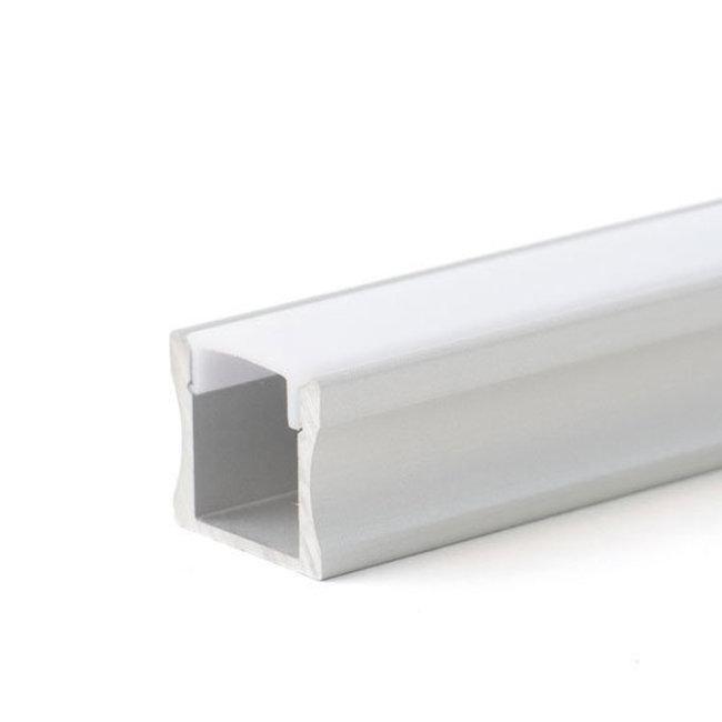 PURPL Perfil de aluminio 2,5m 17,5 x 15 mm para Tiras LED superficie montada