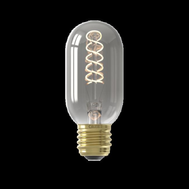 Calex Calex E27 LED Bombilla de filamento Tubular T45 Titanium 2100K 4W Regulable