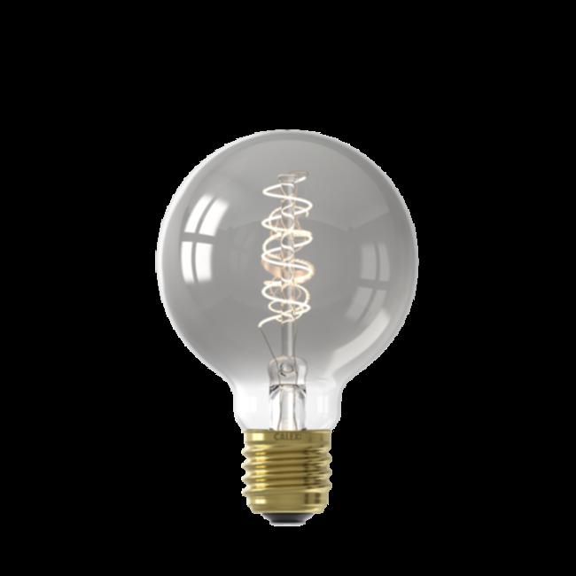 Calex Calex E27 LED Bombilla de filamento Globe G80 Titanium 2100K 4W Regulable