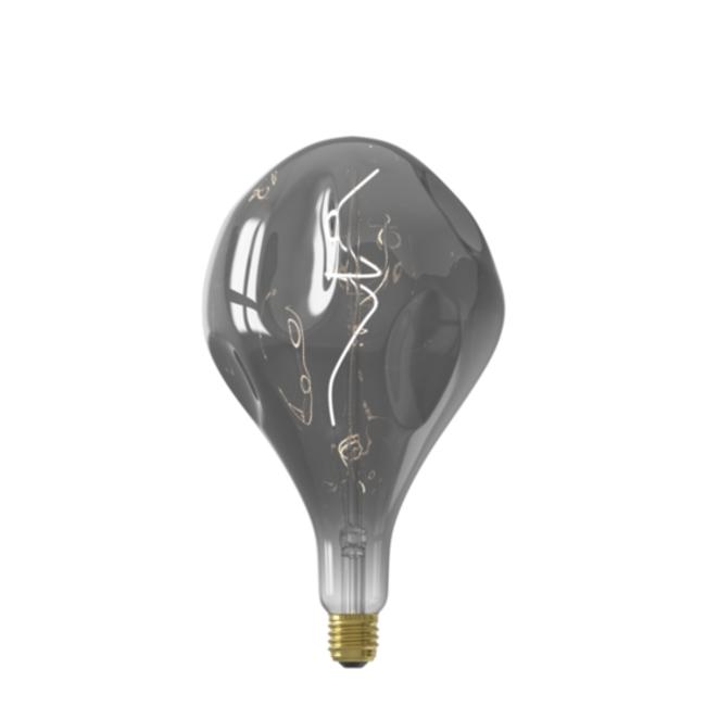 Calex Calex E27 LED Bombilla de filamento Organic Evo Titanium 2100K 6W Regulable