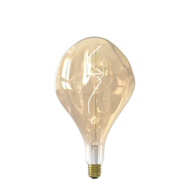 Calex Calex E27 LED Bombilla de filamento Organic Evo Gold 2100K 6W Regulable