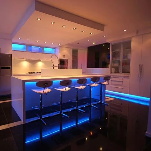 Creativo con iluminación LED