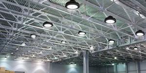 Iluminación LED de almacén
